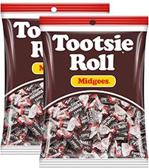 Kẹo Socola Tootsie Roll Midgees 184 g