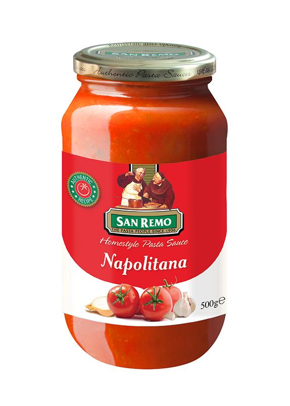 Sốt mì Ý Napolitana San Remo