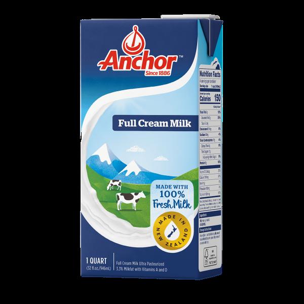 Sữa tươi tiệt trùng Anchor (12x1L)
