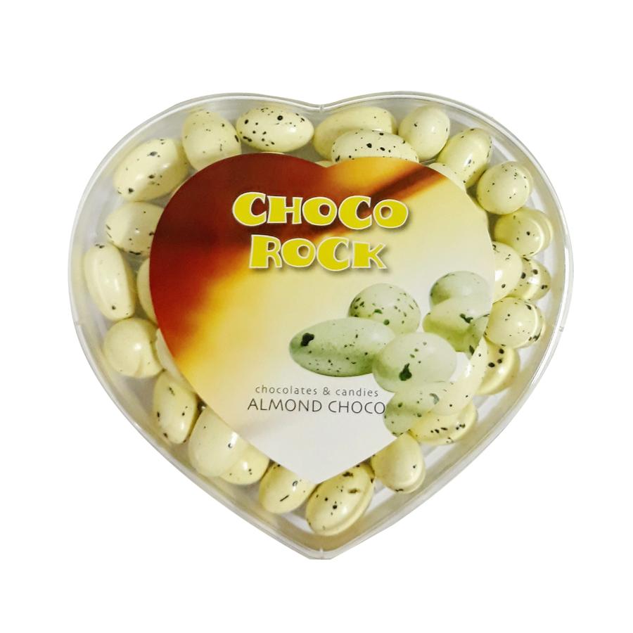 Kẹo socola nhân hạnh nhân trái tim 250g