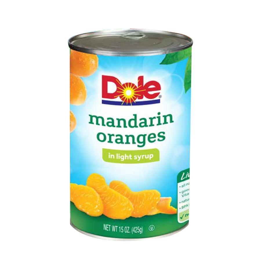 Cam Mandarin Dole 6X452 g