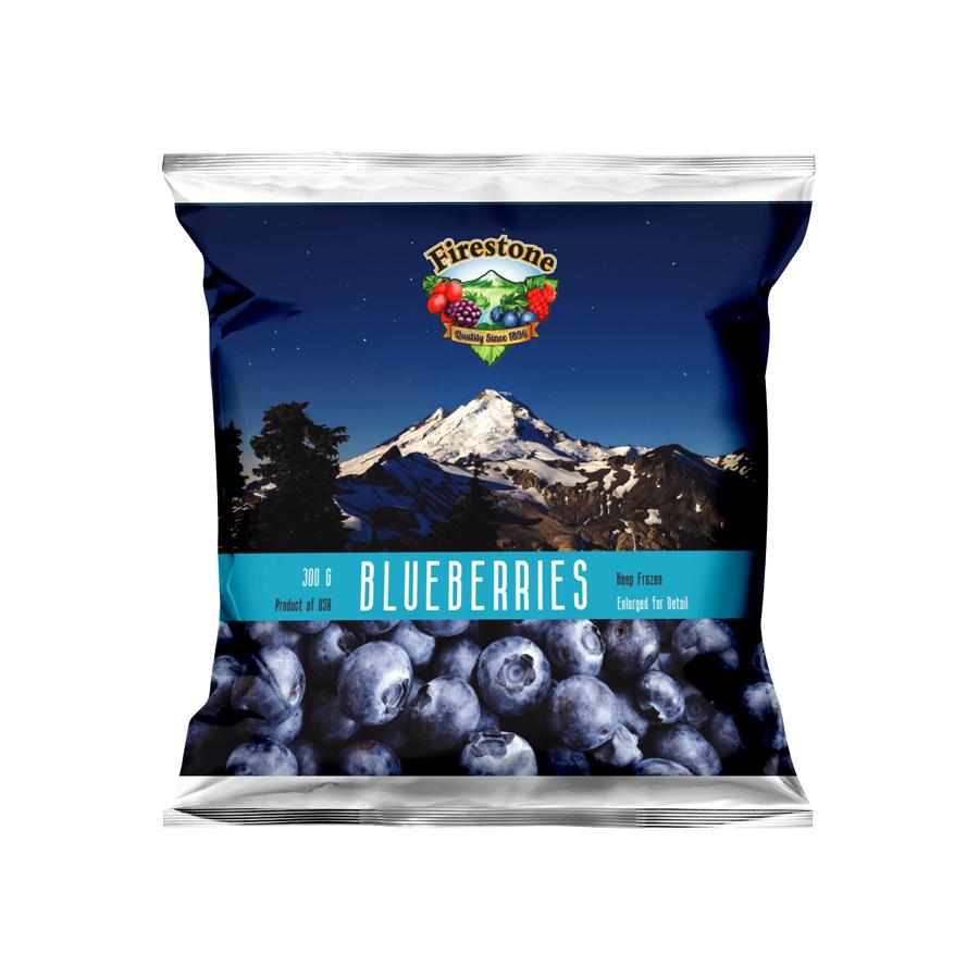Việt quất tươi đông lạnh 300g - IQF Bluberries