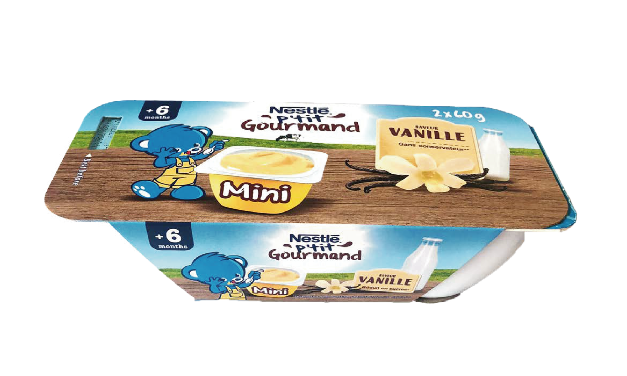 Váng Sữa Nestlé P'tit Gourmand Vị Vani 120g
