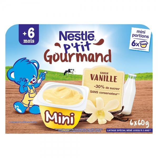 Váng Sữa Nestlé P'tit Gourmand Vị Vani 360g