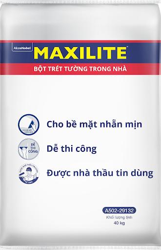 Bột trét tường trong nhà Maxilite